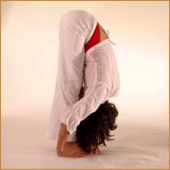 lalita - standing forward bend